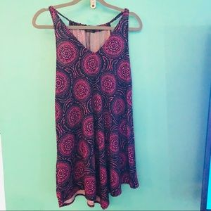 Patterned Sundress/Coverup